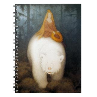 Rey Valemon del oso blanco Cuaderno