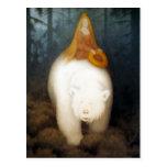 Rey Valemon del oso blanco Postal