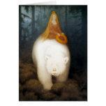 Rey Valemon del oso blanco Tarjetón