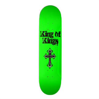 Rey verde de reyes Skateboard Deck Tablas De Skate
