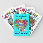 Rey View Hints del Gumbo del carnaval por favor Baraja Cartas De Poker