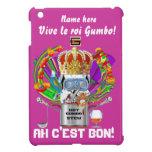 Rey View Hints del Gumbo del carnaval por favor iPad Mini Carcasas