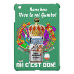 Rey View Hints del Gumbo del carnaval por favor iPad Mini Protector