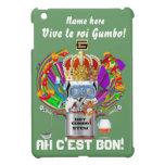 Rey View Hints del Gumbo del carnaval por favor iPad Mini Cárcasa