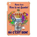 Rey View Hints del Gumbo del carnaval por favor iPad Mini Coberturas