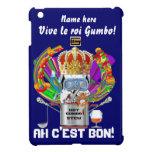 Rey View Hints del Gumbo del carnaval por favor iPad Mini Funda