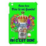Rey View Hints del Gumbo del carnaval por favor iPad Mini Protectores