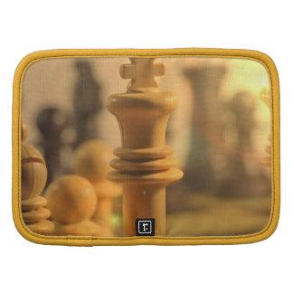 Rey Wallet Folio del ajedrez Planificador