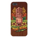 Rey Wood de Tiki iPhone 5 Carcasa