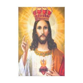 Rey Wrapped Canvas de Jesús Impresión En Lienzo Estirada