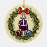 Rey Wreath Round Ornament del ratón Adorno De Reyes