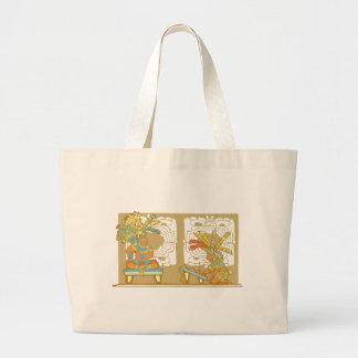 Rey y escribano mayas bolsas
