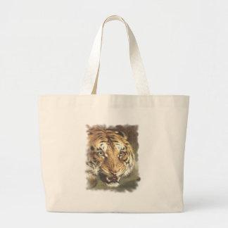 Rey y regulador del tigre de Bengala Bolsas De Mano