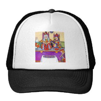 Rey y reina de corazones en el bribón de los gorras