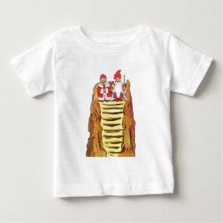 Rey y reina de gnomos tee shirt