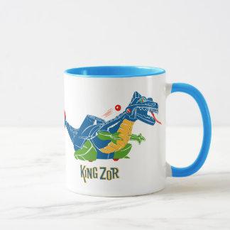 rey Zor Dinosaur Mug de los años 60 Taza