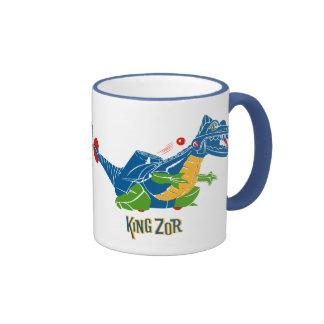rey Zor Dinosaur Mug de los años 60 Taza A Dos Colores