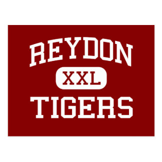 Reydon - Tigers - High School - Reydon Oklahoma Postcard
