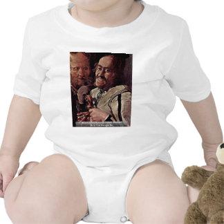 Reyerta de los detalles de los músicos: Músico Traje De Bebé