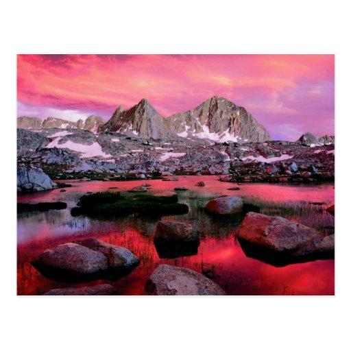Reyes Canyon, California Postales
