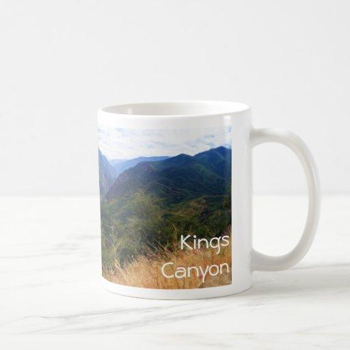 Reyes Canyon Panorama Mug Tazas De Café
