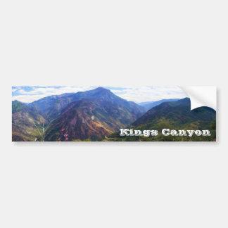 Reyes Canyon Panoramic Bumpersticker Pegatina De Parachoque