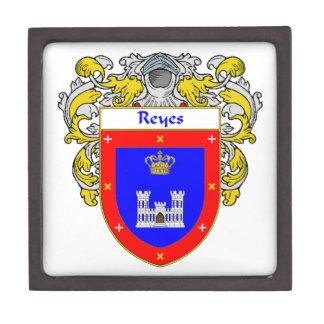 Reyes Coat of Arms/Family Crest Keepsake Box