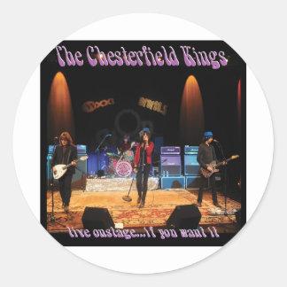 Reyes de Chesterfield Etiquetas