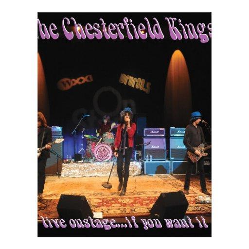 Reyes de Chesterfield Membretes Personalizados