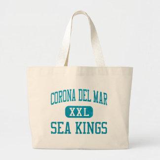 Reyes de mar de Corona del Mar atletismo Bolsa Lienzo