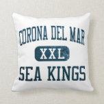Reyes de mar de Corona del Mar atletismo Cojines