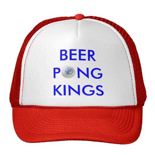 Reyes de Pong de la cerveza Gorro De Camionero