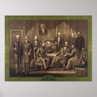 Reyes de Wall Street 1882 Póster