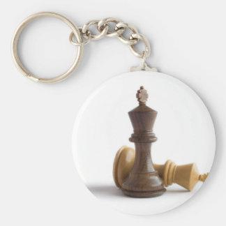 Reyes del ajedrez llaveros