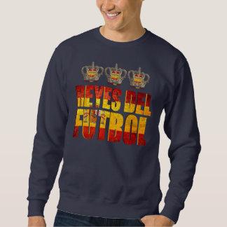 Reyes del Futbol - Spain Kings of Europe Champions Sweatshirt