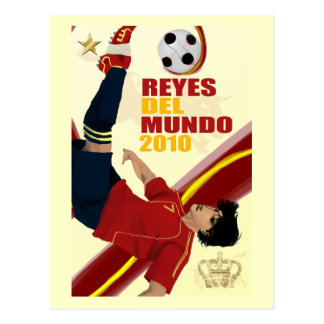 Reyes Del Mundo Poster Print on Gift Items Postcard