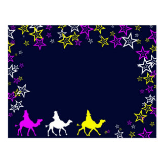 Reyes del navidad tarjetas postales