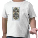 Reyes del oeste americano, c.1880 (engravi del camiseta