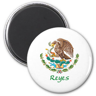 Reyes Mexican National Seal 2 Inch Round Magnet