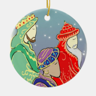 Reyes Ornament del personalizado tres Adorno