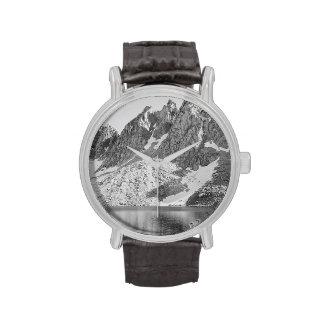 Reyes River de los pináculos de Kearsage de Ansel Reloj De Mano