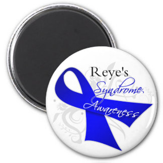 Reye's Syndrome Awareness Ribbon 2 Inch Round Magnet