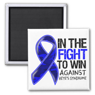 Reye's Syndrome - Fight To Win 2 Inch Square Magnet