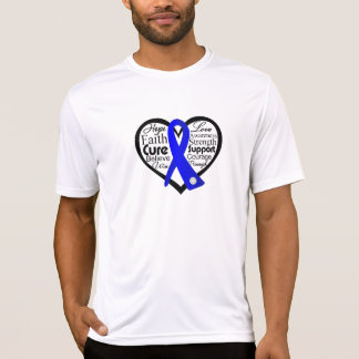 Reye's Syndrome Heart Ribbon Collage T-shirts