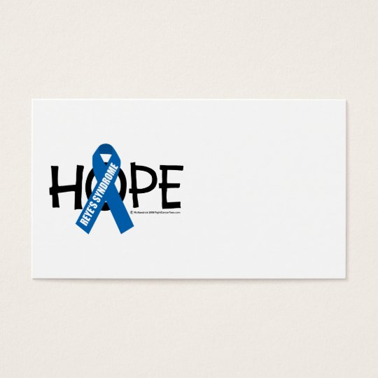 Reye's Syndrome Hope Business Card