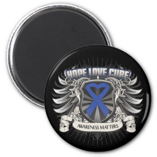 Reye's Syndrome Hope Love Cure 2 Inch Round Magnet