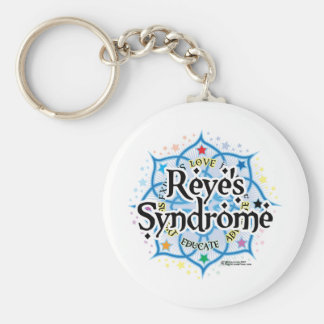 Reye's Syndrome Lotus Keychain