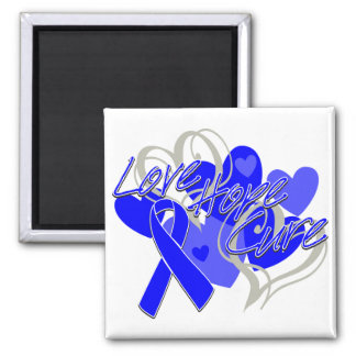 Reye's Syndrome Love Hope Cure 2 Inch Square Magnet