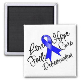 Reye's Syndrome Love Hope Determination 2 Inch Square Magnet