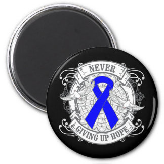 Reye's Syndrome Never Giving Up Hope 2 Inch Round Magnet